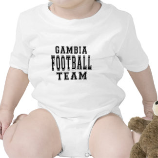 Gambia Football Team Bodysuits