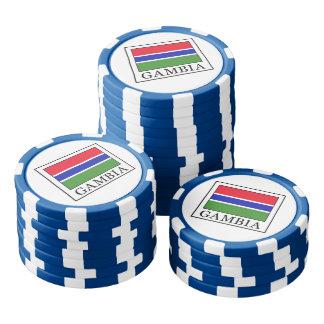 Gambia Poker Chip Set