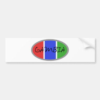Gambia Products!! Bumper Sticker