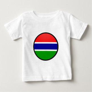 Gambia quality Flag Circle T Shirts