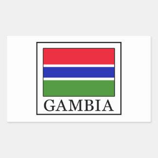 Gambia Rectangular Sticker