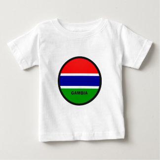 Gambia Roundel quality Flag T-shirt