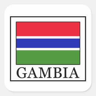 Gambia sticker
