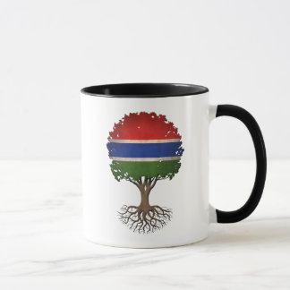 Gambian Flag Tree of Life Customizable Mug