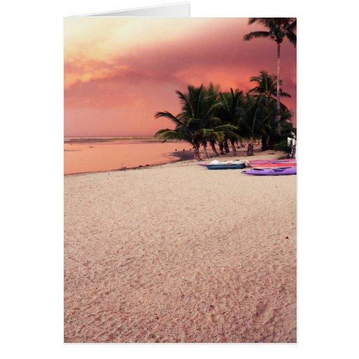 gambian sunset card