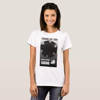 Gamble Casino Grandma Comic Funny T Shirt