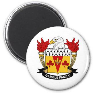 Gamble Family Crest Fridge Magnet