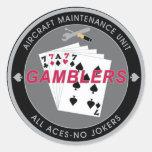 Gambler AMU Sticker
