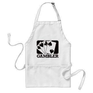 Gambler - Black Standard Apron