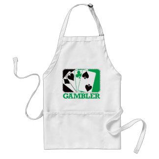 Gambler - Green Standard Apron