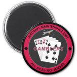 Gambler Magnet Red