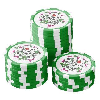 Gambler Poker Chips Set