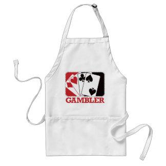Gambler - Red Standard Apron
