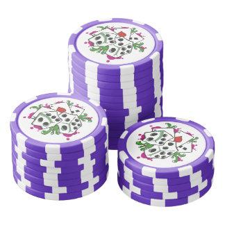 Gambler Set Of Poker Chips