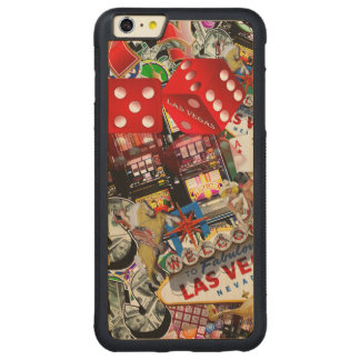 Gamblers Delight - Las Vegas Icons Background iPhone 6 Plus Case