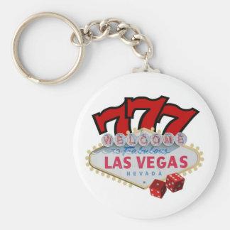 Gambler's Las Vegas Lucky Keychain! Key Ring