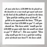 Gamblers mistake posters