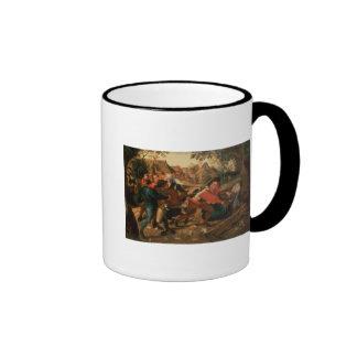 Gamblers Quarrelling Mugs