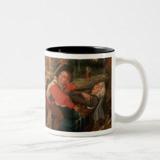 Gamblers Quarrelling Coffee Mugs