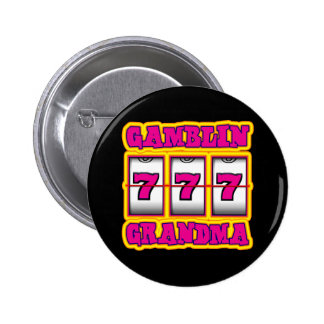 GAMBLIN GRANDMA 6 CM ROUND BADGE