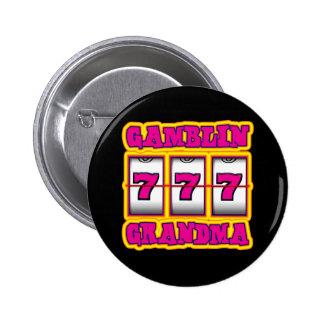 GAMBLIN GRANDMA 6 CM ROUND BADGE