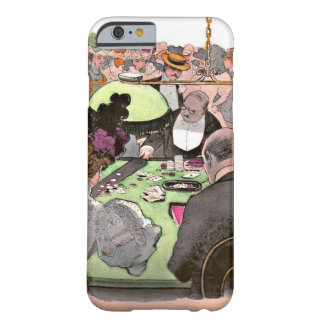 Gambling 1897 barely there iPhone 6 case