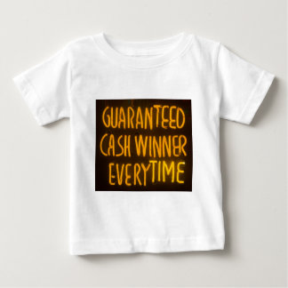 Gambling Casino Cash Winner Sign Neon Lights T-shirts