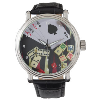 Gambling casino gaming pieces watch