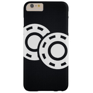 Gambling Chips Minimal Barely There iPhone 6 Plus Case