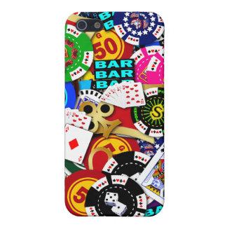 Gambling Collage iPhone 4 Case