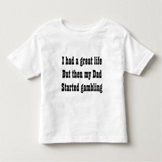 Gambling dad tee shirt