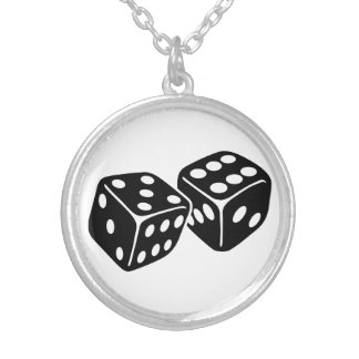 Gambling dice custom jewelry