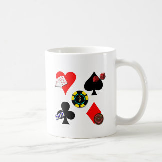 GAMBLING ICONS COFFEE MUG