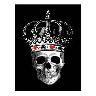 Gambling King Postcard