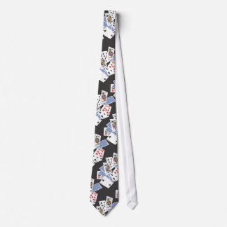 Gambling Poker Card Games Design Necktie