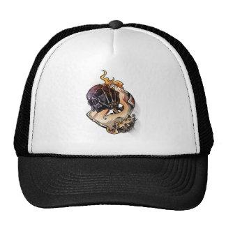 Gambling Skull Death Skeleton Poker Cap