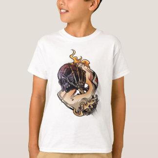 Gambling Skull Death Skeleton Poker T-Shirt