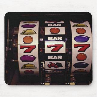 Gambling, slot machines mouse mat