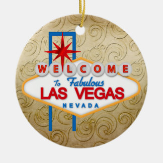 Gambling - Vegas Christmas Ornament