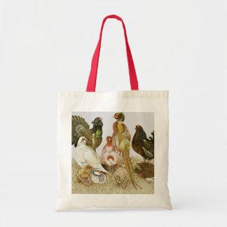 Game Birds Tote Bag