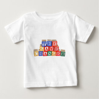 Game Changer Building Block Letters Baby T-Shirt