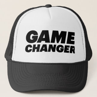 GAME CHANGER fun slogan hat