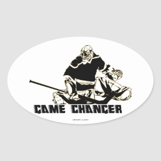 GAME CHANGER OVAL STICKER