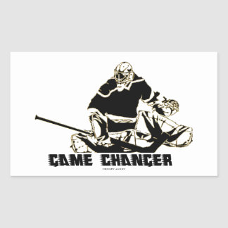 GAME CHANGER RECTANGULAR STICKER