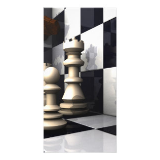 Game Chess Hobby Photo Card Template