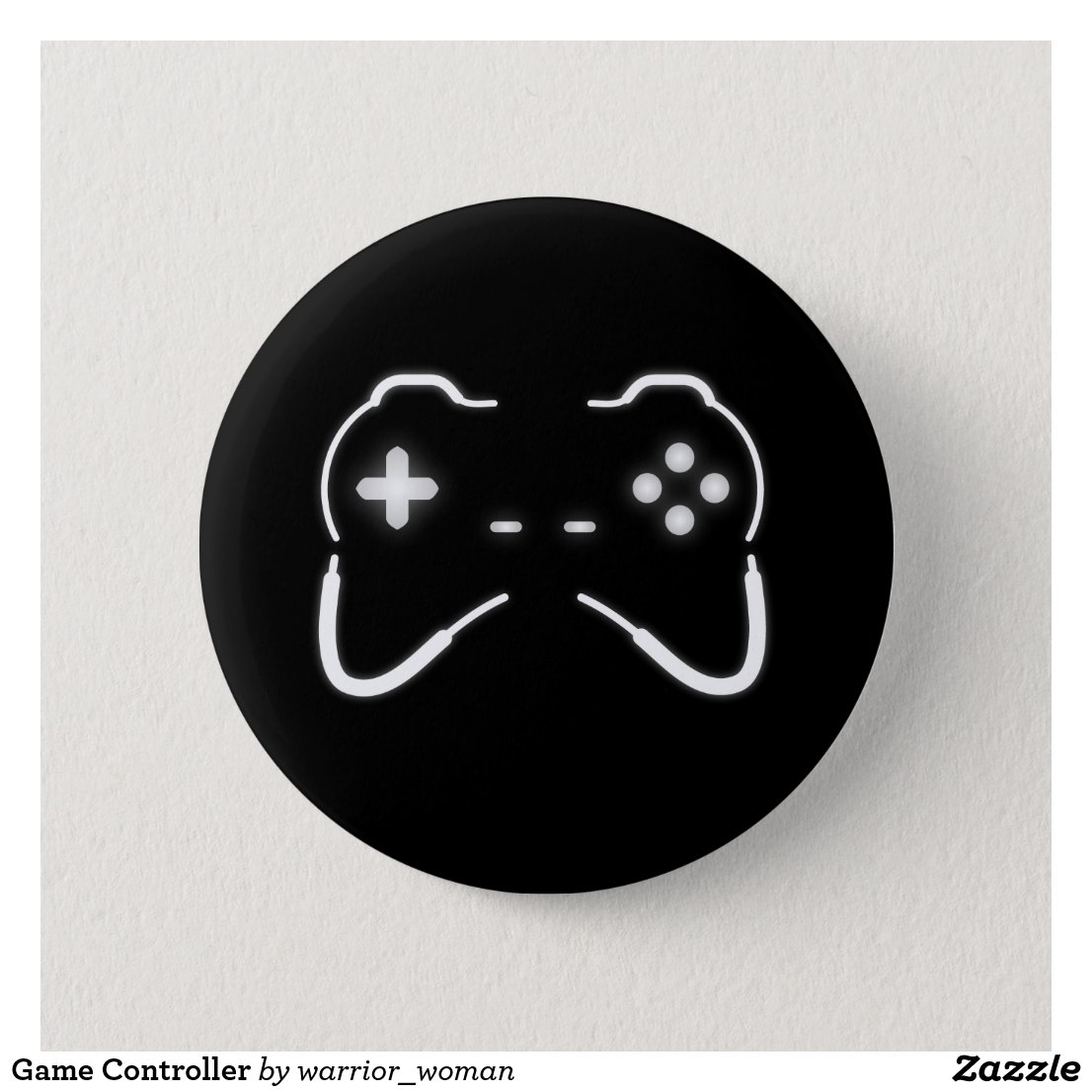 Game Controller Badge
