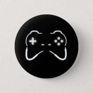 Game Controller 6 Cm Round Badge