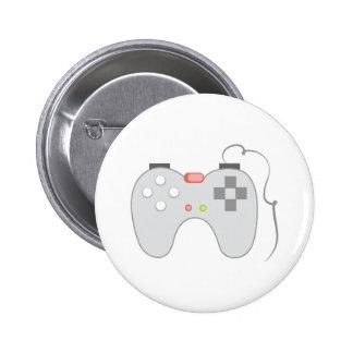 Game Controller 6 Cm Round Badge
