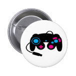 Game Controller Pinback Buttons