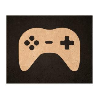 Game Controllers Minimal Cork Paper Print